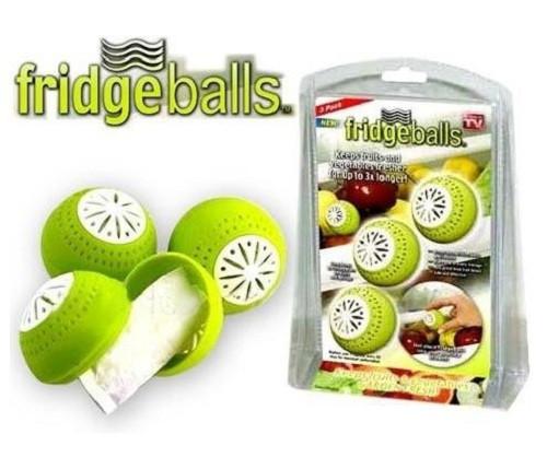 Поглотитель запаха для холодильника шарики Fridge Balls
