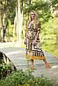 Женское шифоновое платье большого размера (р. 52-60), фото 4