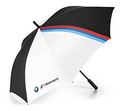 Оригінальна парасоля-тростина BMW M Motorsport Umbrella, Black / White.