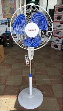 Напольный вентилятор Rainberg FS-1608, с пультом