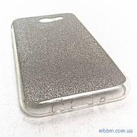 Накладка Remax Glitter Silicone Samsung Galaxy J327 black