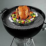Подставка под курицу 8838 Weber для Gourmet BBQ System, нержавеющая сталь, фото 8