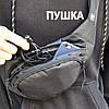 Поясная сумка Classic черная, фото 8
