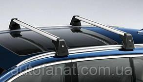 Оригинальные багажные дуги для автомобилей с рейлингами крыши BMW Х5 (F15) (82712232293)