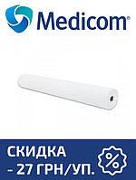 Одноразовая простынь в рулоне белая MEDICOM Standart 25г/м.кв 80 х 100