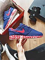 Мужские кроссовки Nike Roshe Run People Blue replika