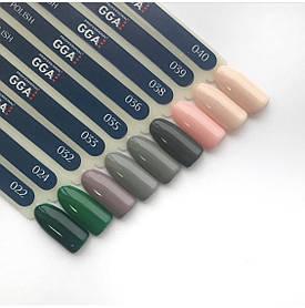 Набор гель лаков GGA  Professional 10 ml, разные цвета