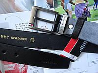 Топовый кожаный ремень Tommy Hilfiger мужской реплика