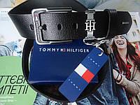 Мужской ремень Tommy Hilfiger для джинс из натуральной кожи, фото 1