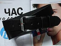 Мужской ремень Tommy Hilfiger кожаный под джинсы, фото 1