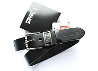 Ремень кожаный мужской LEVIS +коробка в подарок!