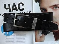 Стильный кожаный ремень Philipp Plein мужской +коробка в подарок, фото 1