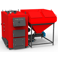 Промышленный котёл с автоматизированной подачей топлива РЕТРА 4-М (RETRA 4-М 250 кВт), фото 1