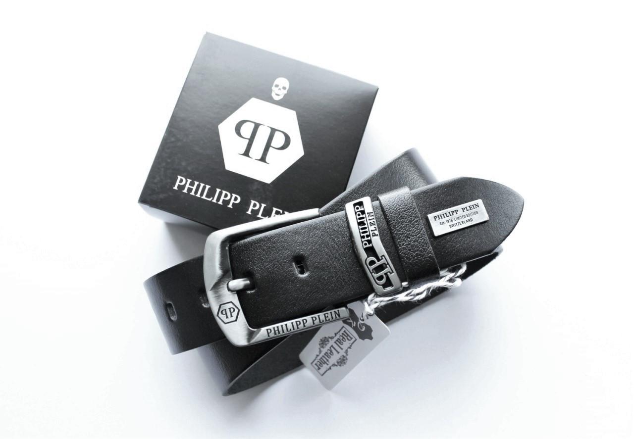 Стильный мужской ремень Philipp Plein для джинсов