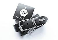 Стильный мужской ремень Philipp Plein для джинсов, фото 1