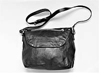 """Женская кожаная сумка """"Ripido"""" черная, фото 1"""