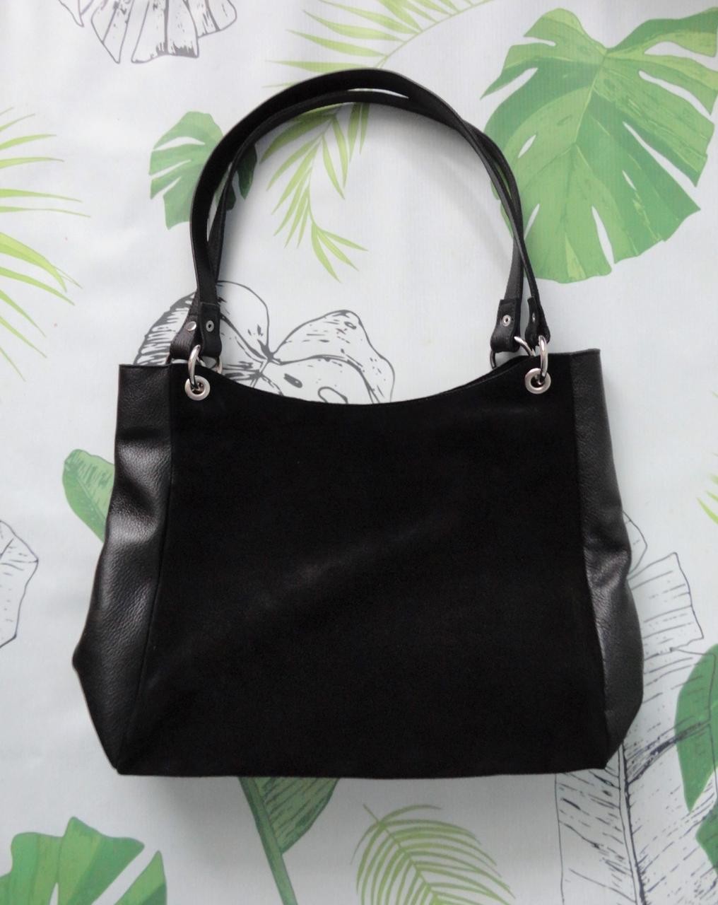 """Женская замшевая сумка """"Big bag"""""""