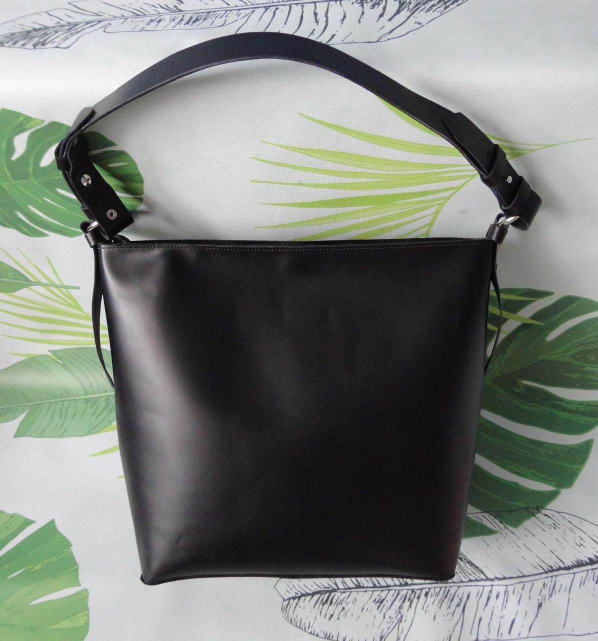 """Классическая женская сумка из натуральной кожи """"Classic"""""""