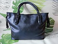 """Большая женская сумка-шоппер """"Crazy blue"""", фото 1"""