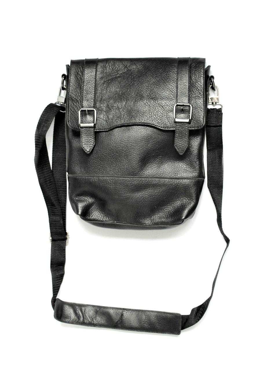 Мужская сумка мессенджер из натуральной кожи в наличии