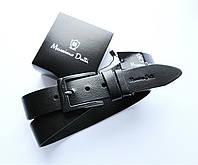 Мужской кожаный ремень Massimo Dutti, фото 1