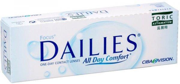Торические однодневные линзы Focus Dailies Toric