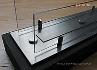 Топливный блок  Алаид Style 700-K С2 в корпусе со стеклом. Напольный камин. Биокамин в квартиру, дом
