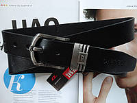 Мужской кожаный ремень Diesel есть подарочная коробка, фото 1