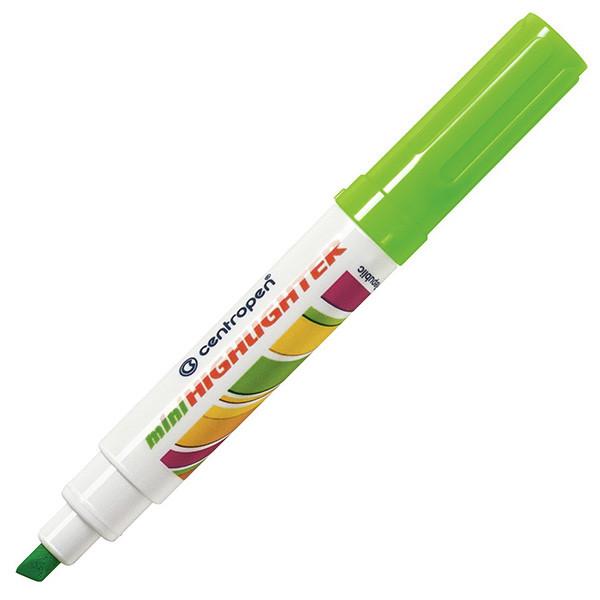 Маркер текстовый Centropen 8052 1-4,6 мм зеленый
