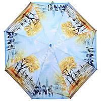 Женский зонт ZEST полный автомат серия Фото, расцветка Осень в Лондоне