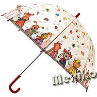 Прозрачный детский зонт Zest. Расцветка Друзья