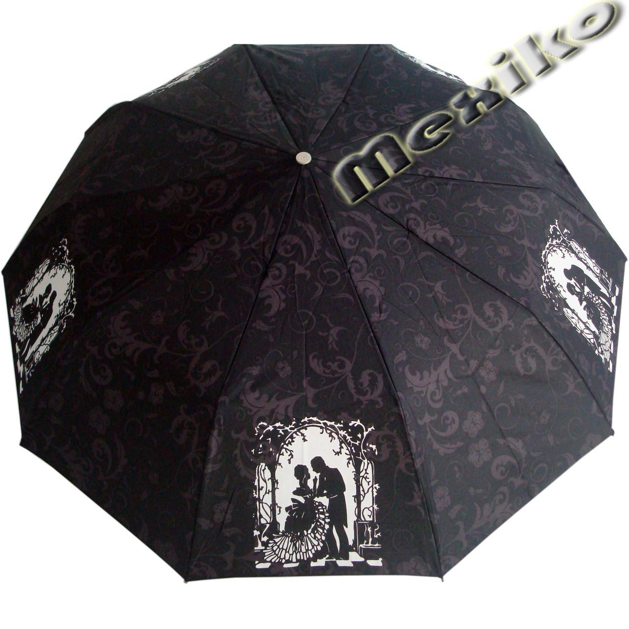Зонт ZEST, полуавтомат серия 10 спиц, расцветка Темный Пушкин