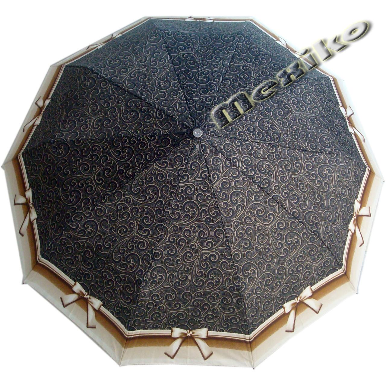 Зонт ZEST, полуавтомат серия 10 спиц, расцветка Бантик