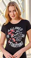 🌺 Женская футболка из вискозы, фото 1