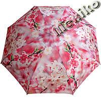 Женский зонт ZEST полный автомат серия Фото, расцветка Розовая сакура, фото 1