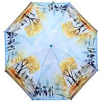 Женский зонт ZEST полный автомат серия Фото, расцветка Осень в Лондоне, фото 1