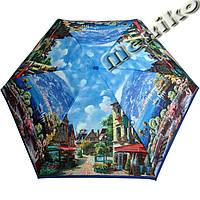Зонт ZEST женский механика 5 сложений, цветной плоский. Расцветка Морской, фото 1