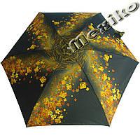 Зонт ZEST женский механика 5 сложений, цветной плоский. Расцветка Золотой вихрь, фото 1