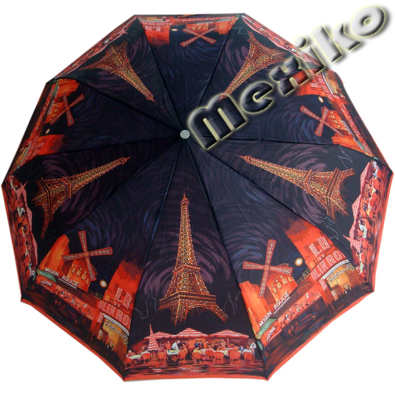 Зонт ZEST, полный автомат серия 10 спиц, расцветка Мулен Руж