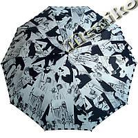 Зонт ZEST, полный автомат серия 10 спиц, расцветка Фото-стиль, фото 1
