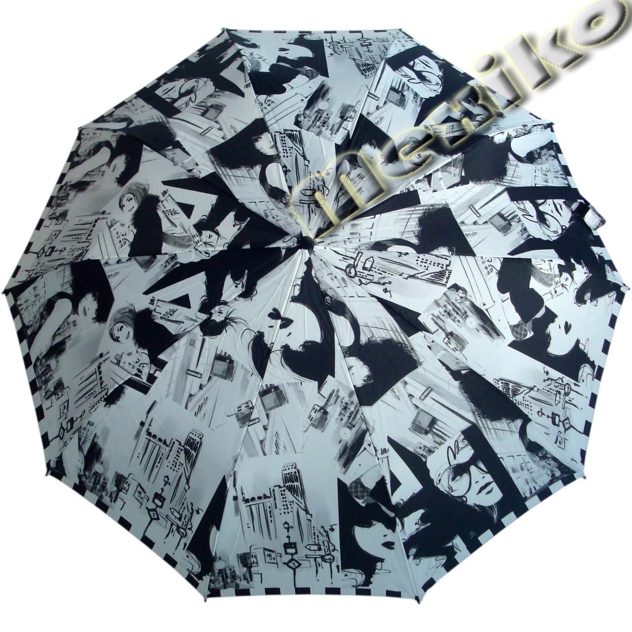 Зонт ZEST, полный автомат серия 10 спиц, расцветка Фото-стиль