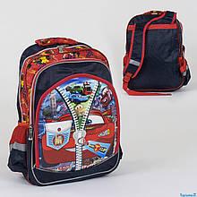 Шкільний рюкзак Тачки