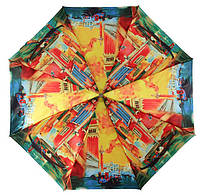 Зонт ZEST, полный автомат серия Сатин, расцветка Цветная Венеция
