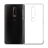 Чехол Case для Nokia 6.1 силиконовый прозрачный
