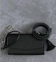 Женская кожаная сумка клатч 3 в 1