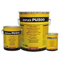 Изофлекс ПУ 500 (25 кг) Гидроизоляция кровли. Цветная полиуретановая жидкая резина для суровых условий