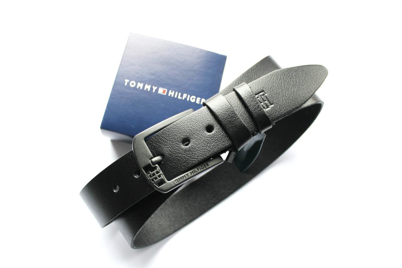 Мужской кожаный ремень Tommy Hilfiger