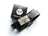 Молодежный кожаный ремень Philipp Plein для брюк
