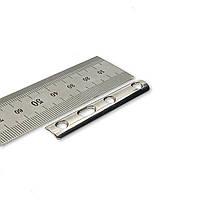 Пластина трубчаста 1/3 1мм (сталь) L = 58мм, 4 отв,