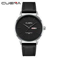 Мужские стильные водонепроницаемые часы CUENA 6646 P01